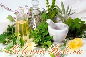 Народная медицина: различные лечебные травы и масла