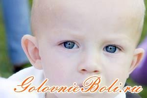 Ребенок с гидроцефалией (водянкой) мозга
