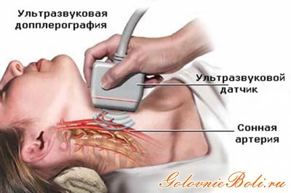 УЗИ шеи (сонной артерии)