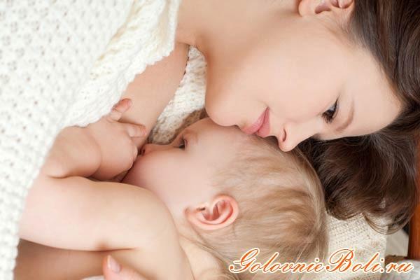 от головной боли кормящей маме